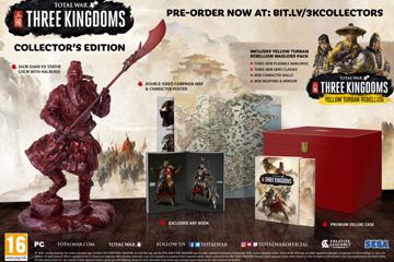 Three Kingdoms'ta Ön Sipariş Bonusu ve Özel Sürüm İçerikleri