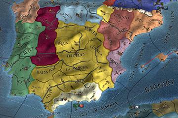"""Europa Universalis IV'te 1.28 """"Spain"""" Yamasındaki Harita Değişiklikleri"""