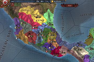 Europa Universalis IV'te Tarikat Kurma ve Amerika'daki Toprak Değişiklikleri