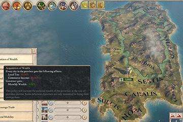 Imperator: Rome'da Vali Politikaları ve Kuzey Afrika Askeri Gelenekleri