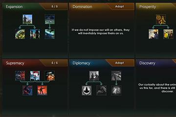 Stellaris'te Gelenek Değişiklikleri