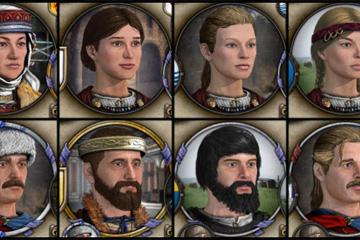 Crusader Kings II – Holy Fury Başarımları ve Portreleri