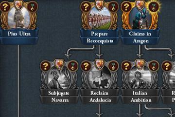 Europa Universalis IV'te İberyadaki Yeni Görev Ağaçları ve Ulusal İdealar
