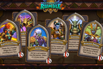 Hearthstone'da Rumble Run