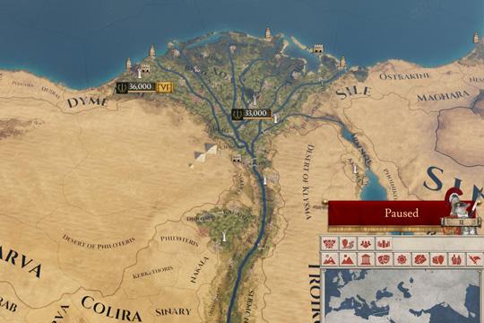 Imperator: Rome'da Ekonomi Politikaları ve Oyunun Başlangıcında Mısır
