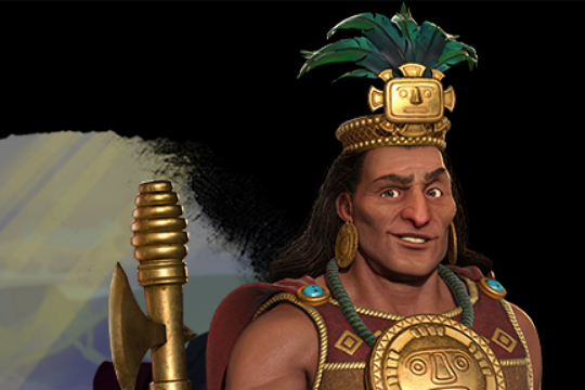 Civilization VI'da İnka'ya Pachacuti Liderlik Ediyor