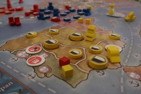 Europa Universalis Masa Oyununda Oyun Düzeni, Aşamalar ve Kastilya