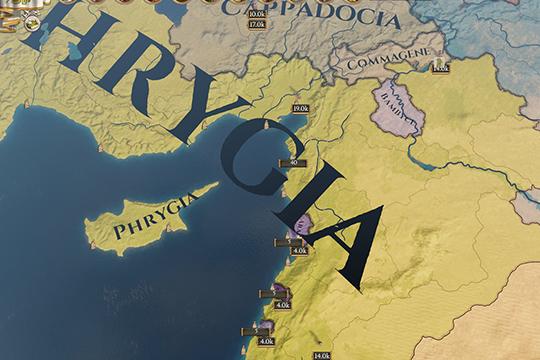 Imperator: Rome'da Nüfus Hareketliliği ve Oyunun Başlangıcında Levant