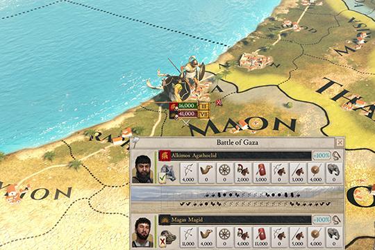 Imperator: Rome'da Savaş Mekanikleri