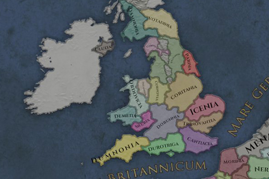Imperator: Rome'da Ticaret ve Oyunun Başlangıcında Britanya