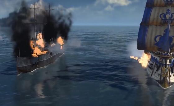 Anno 1800'de Deniz Savaşları