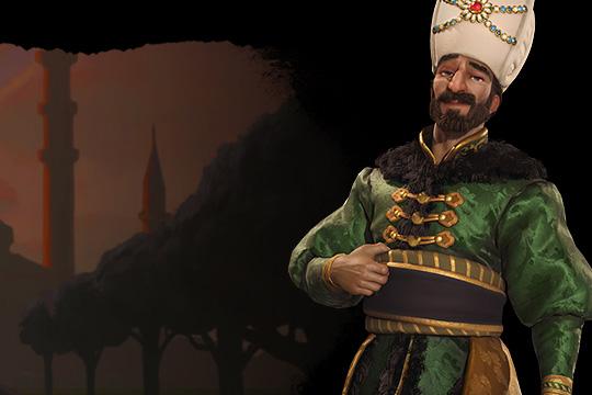 Civilization VI'da Osmanlı'ya Kanuni Sultan Süleyman Liderlik Ediyor