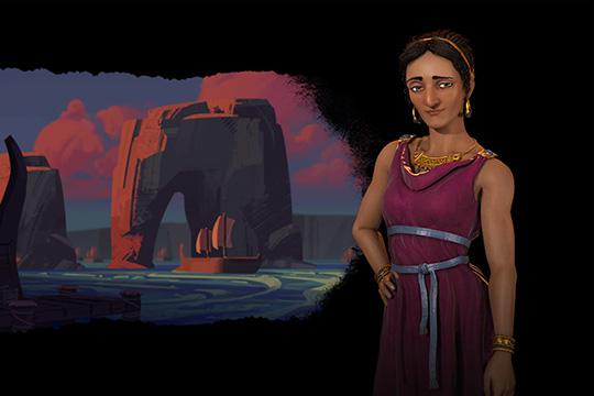 Civilization VI'da Fenikelilere Dido Liderlik Ediyor