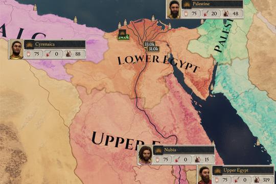 Imperator: Rome'da Valiler, Askeri Zaiyat ve Arayüz Değişiklikleri