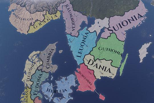 Imperator: Rome'da Aileler ve Oyunun Başlangıcında İskandinavya