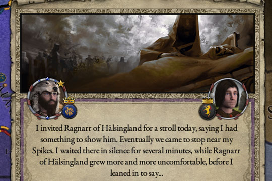 Crusader Kings II'de Harikalardaki Yükseltmeler