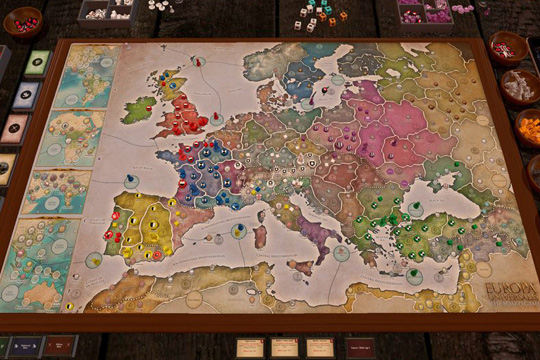 Europa Universalis Masa Oyununda Oyuncu Diyarları ve NPR