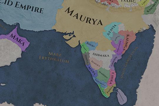Imperator: Rome'da Müttefiklik Değişiklikleri ve Oyunun Başlangıcında Hindistan