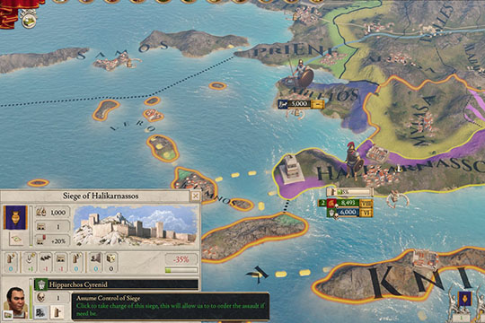 Imperator: Rome'da Çeşitli Savaş Mekanikleri ve Muharebe Taktiklerindeki Değişiklikler
