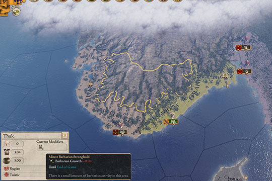 Imperator: Rome'da Barbarlar ve Oyunun Başlangıcında Tibet