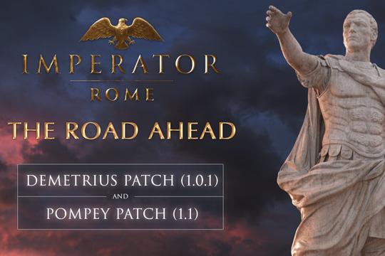 Imperator: Rome'da Çıkış Sonrası Yol Haritası