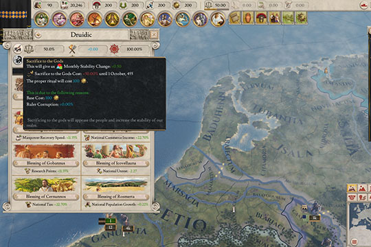 Imperator: Rome'da 1.1 Pompey Yamasındaki Denge Değişiklikleri