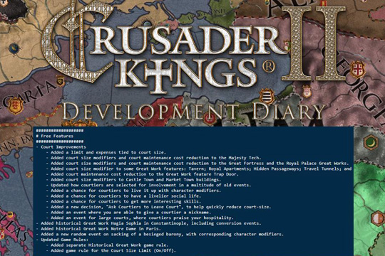 Crusader Kings II'de 3.1.1 Yaması