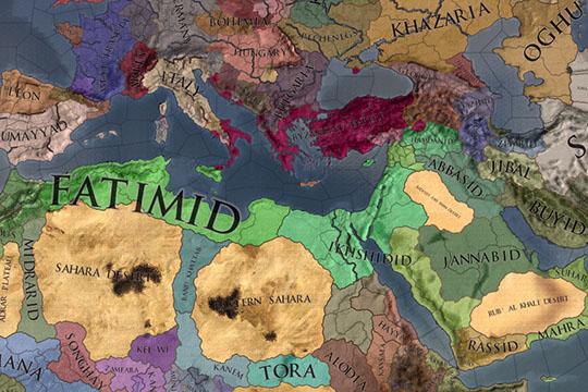 Crusader Kings II – Iron Century'deki Müslüman Hükümdarlar