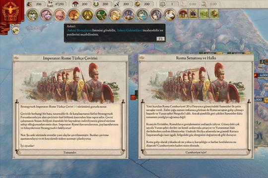 Strategyturk Imperator: Rome Türkçe Yaması Çıktı