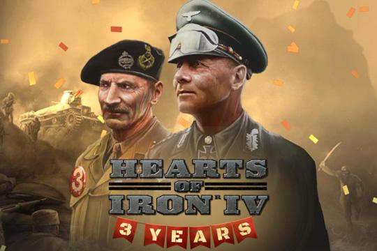 Hearts of Iron IV'te 3. Yıl Dönümü Geliştirici Günlüğü