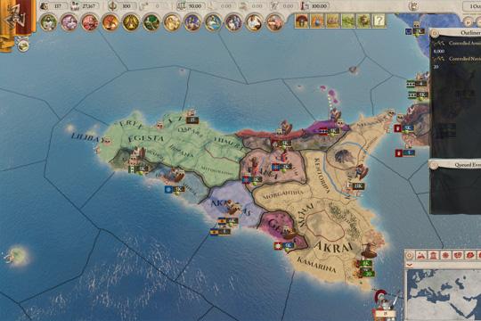 Imperator'da Devlet Adamlığı, Basit Olaylar ve Harita Modları