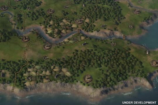 Crusader Kings III'te Oyun Haritası
