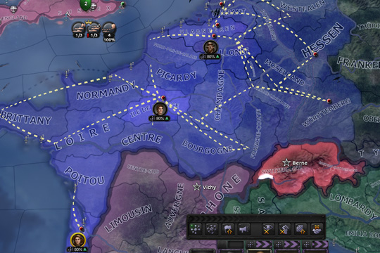 Hearts of Iron IV'te Casuslar