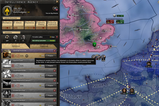 Hearts of Iron IV'te Operasyonlar
