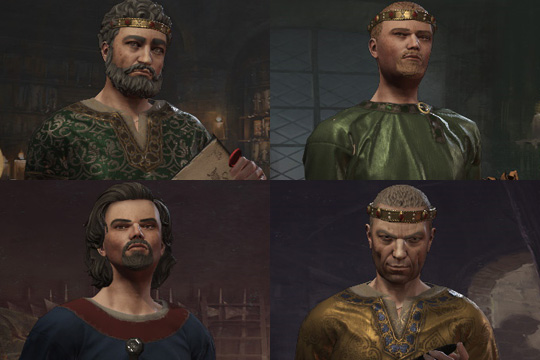 Crusader Kings III'te Konsey, Eşler, Piskoposlar ve Güçlü Vasallar