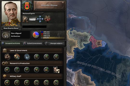 Hearts of Iron IV'te Portekiz Odak Ağacı