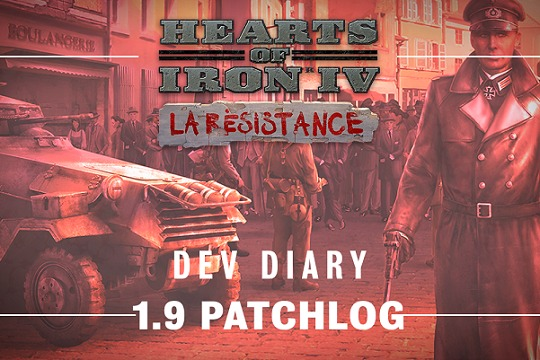 "Hearts of Iron IV'te 1.9 ""Husky"" Yama Notları"