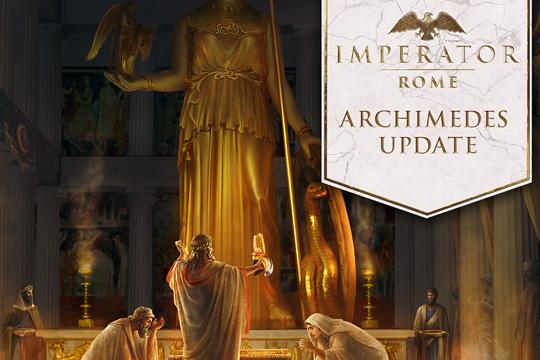 "Imperator: Rome – 1.4 ""Archimedes"" Yaması"