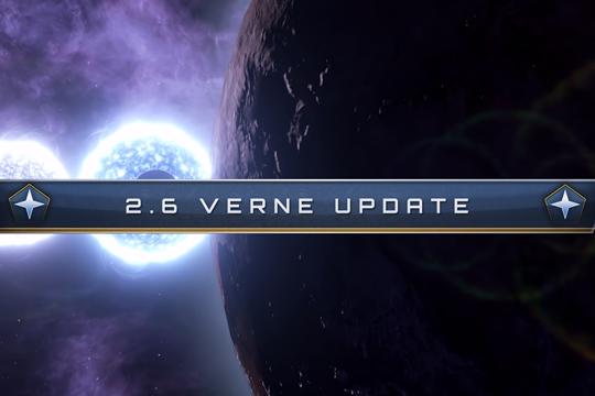 Stellaris'te 2.6 Verne Yaması