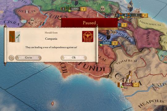 Imperator'da İsyanlar ve Bağımsızlık Savaşları