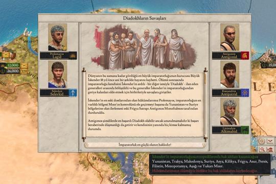 Strategyturk Imperator: Rome Türkçe Yama 1.4.1 (%100) Çıktı