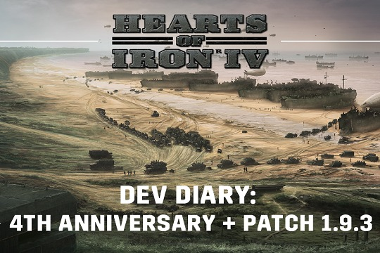 Hearts of Iron IV'te Dördüncü Yıl ve 1.9.3 Yaması