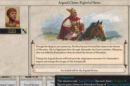 Imperator'da Epir ve Pyrrhus