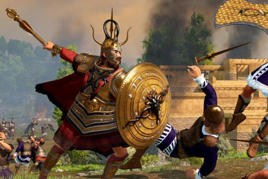 Total War Saga: TROY'da Agamemnon
