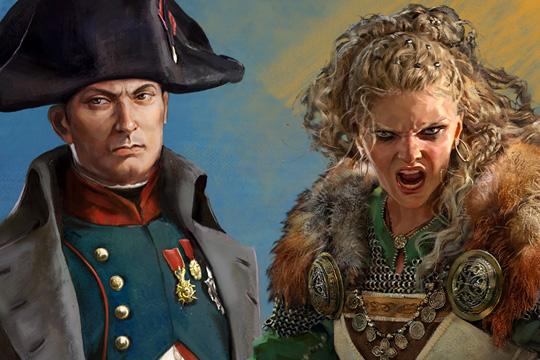Total War: ELYSIUM'da Kart Tasarımı