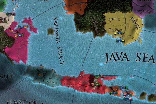 Europa Universalis IV'te Majapahit İçerikleri