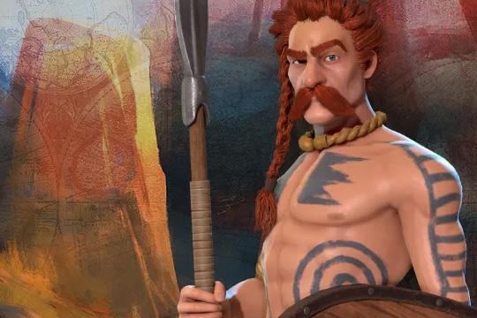 Civilization VI'da Galya'ya Ambiorix Liderlik Ediyor