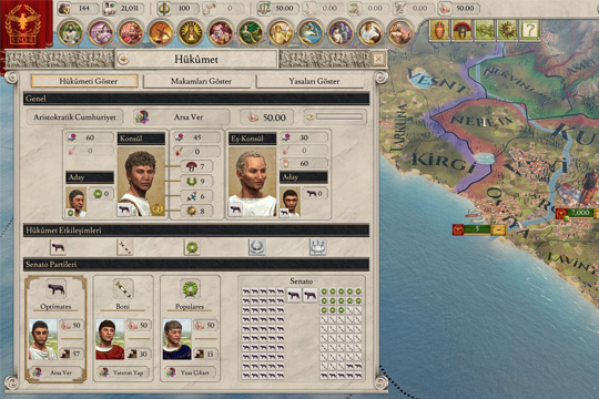 Strategyturk Imperator: Rome Türkçe Yama 1.5 (%100) Çıktı