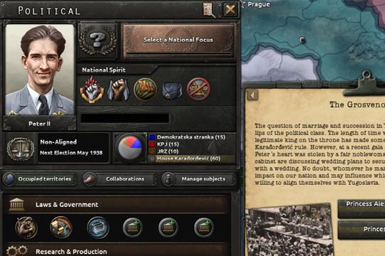 Hearts of Iron IV'te Yugoslavya ve Romanya Değişiklikleri