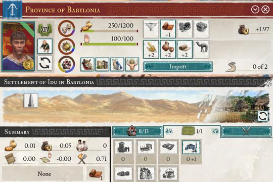 Imperator: Rome'da Arayüz Değişiklikleri
